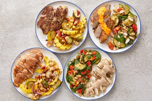 Wellness Meal Prep Bundle with Chicken & Pork
