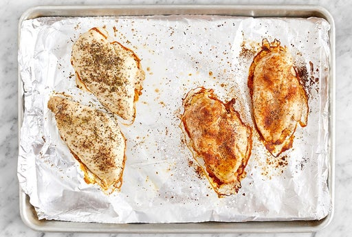 Roast the chicken