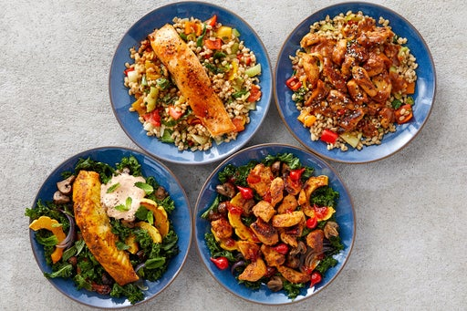 Wellness Meal Prep Bundle with Chicken & Salmon