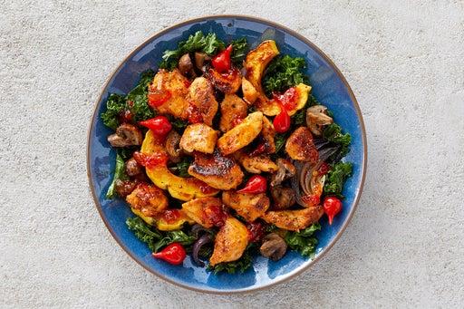 Finish & Serve the Chicken & Kale Salad