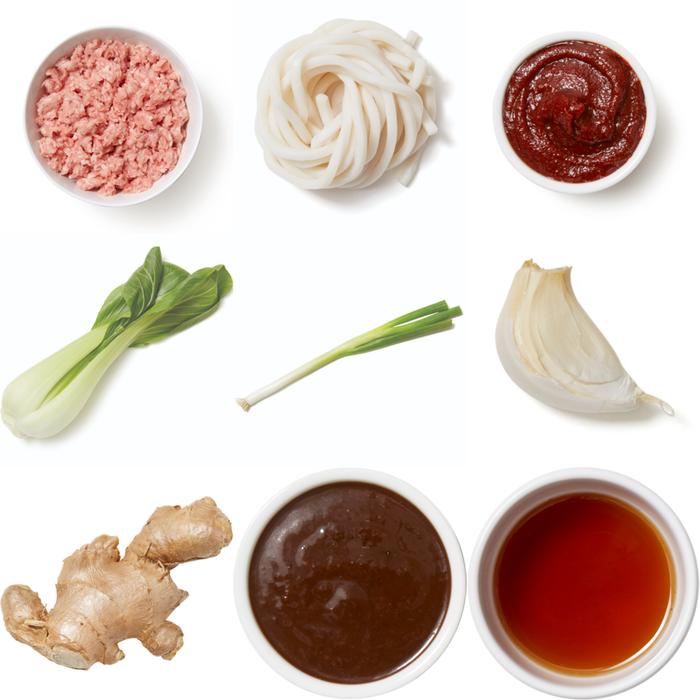 Gochujang Chicken & Udon Stir-Fry with Bok Choy & Scallions