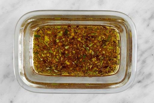 Make the Rosemary Vinaigrette