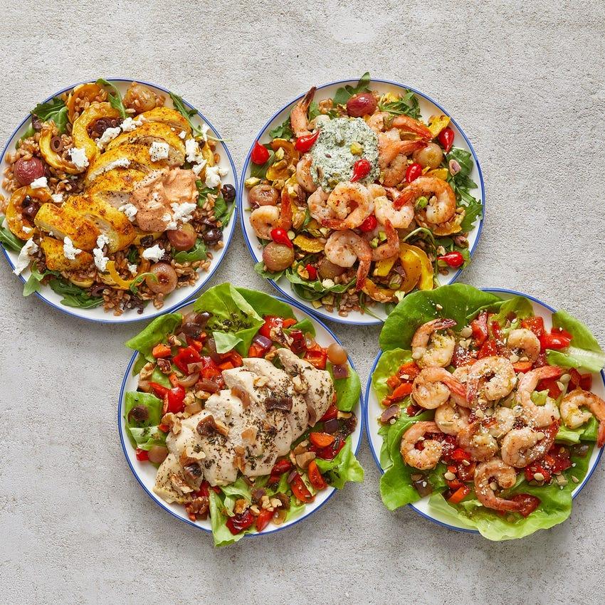 Wellness Meal Prep Bundle with Chicken & Shrimp