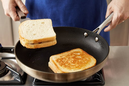 Cook the sandwiches