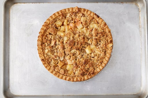 Assemble & bake the pie