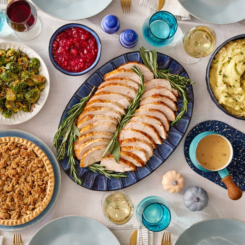 Classic Thanksgiving Feast For week of 11/8 delivery