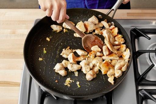 Start the chicken:
