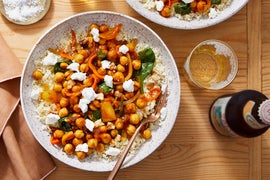 Spiced Chickpea & Vegetable Tagine with Couscous