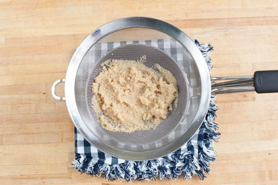 Cook the amaranth: