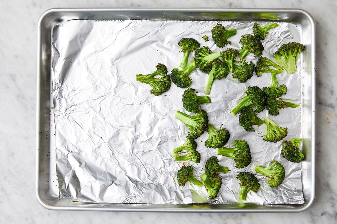 Start the broccoli: