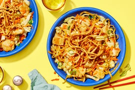 Chrissy Teigen's Chinese Chicken  Salad with Crispy Wontons