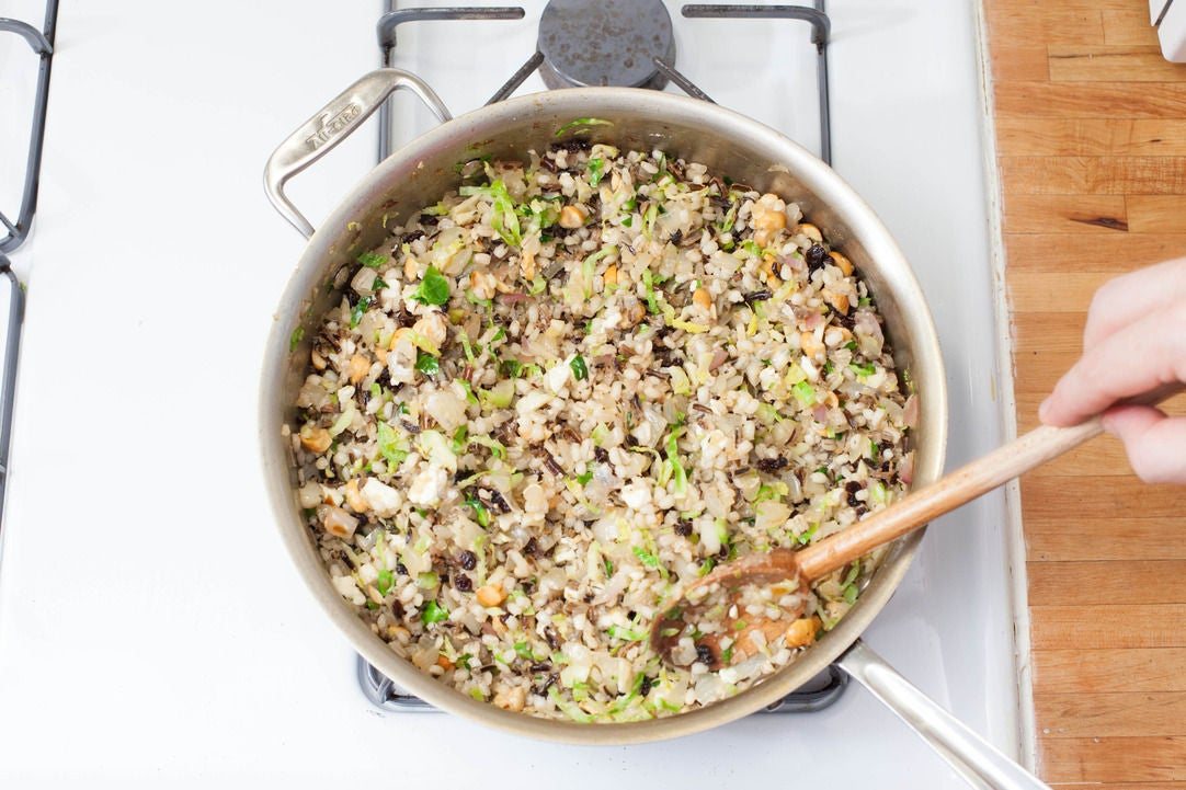 Make the stuffing: