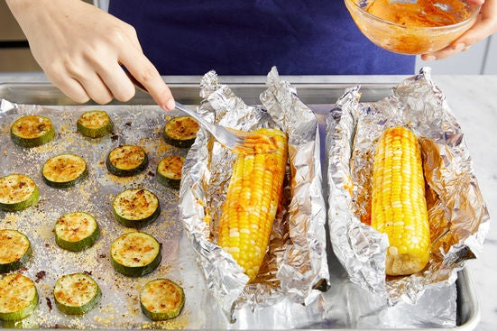 Make the smoky butter & serve your dish: