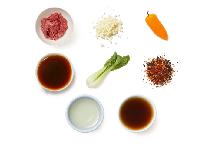 Beef & Vegetable Stir-Fry with Cauliflower Rice