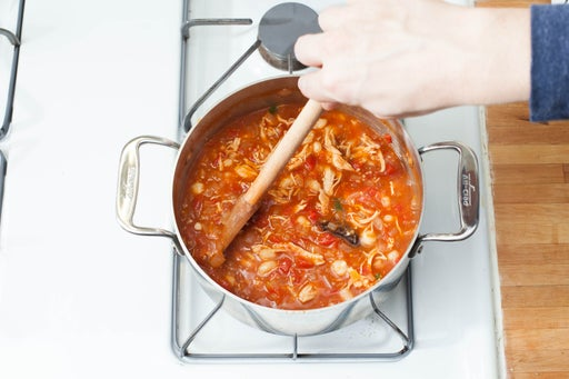 Make the soup: