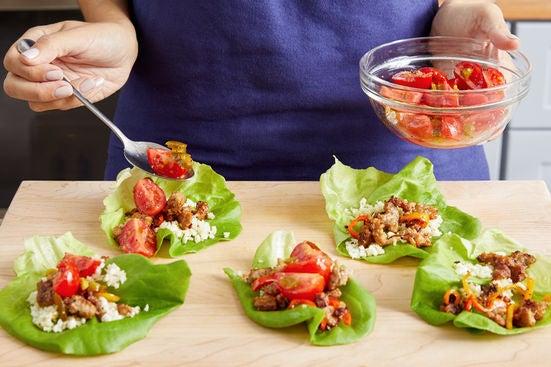 Assemble & serve your dish: