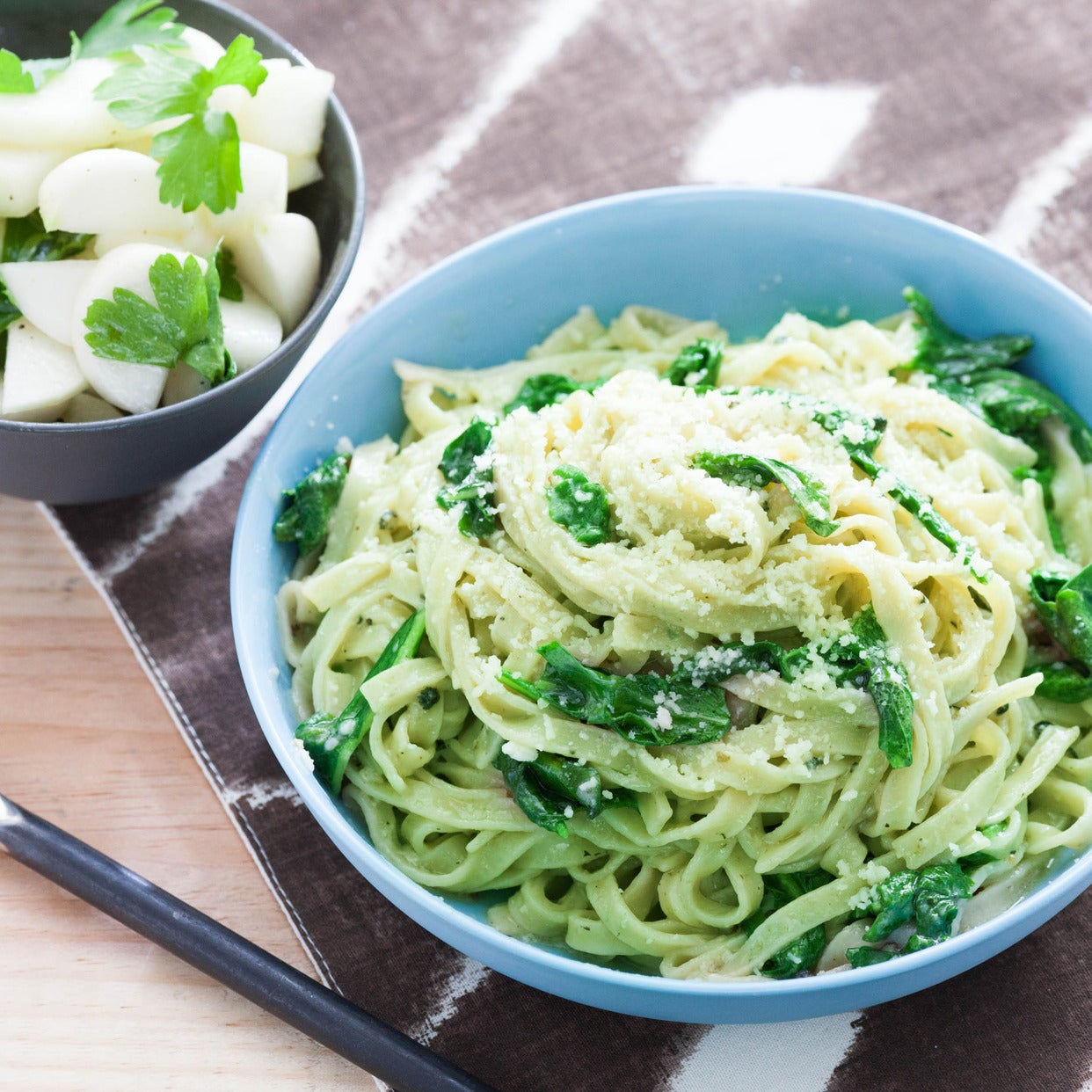 Recipe: Fresh Turnip Green Cacio e Pepe Pasta with Baby ... Green Turnip Recipe