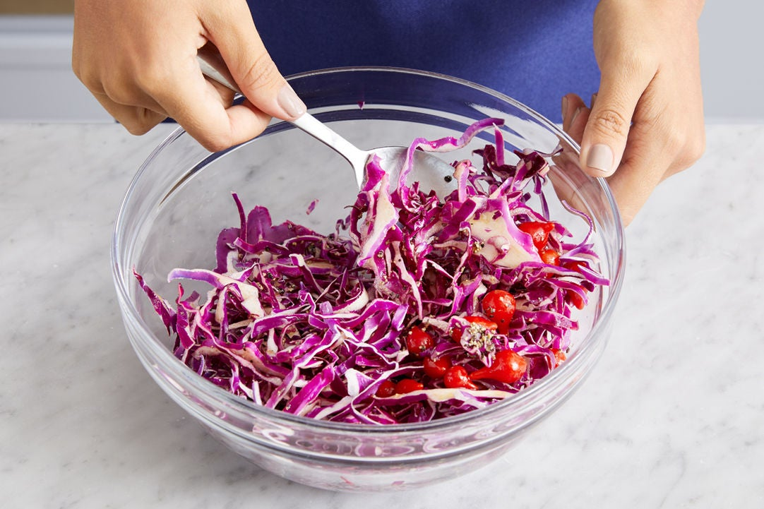 Make the slaw: