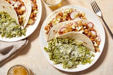 Zesty Pork Tacos with Cilantro Cabbage Slaw