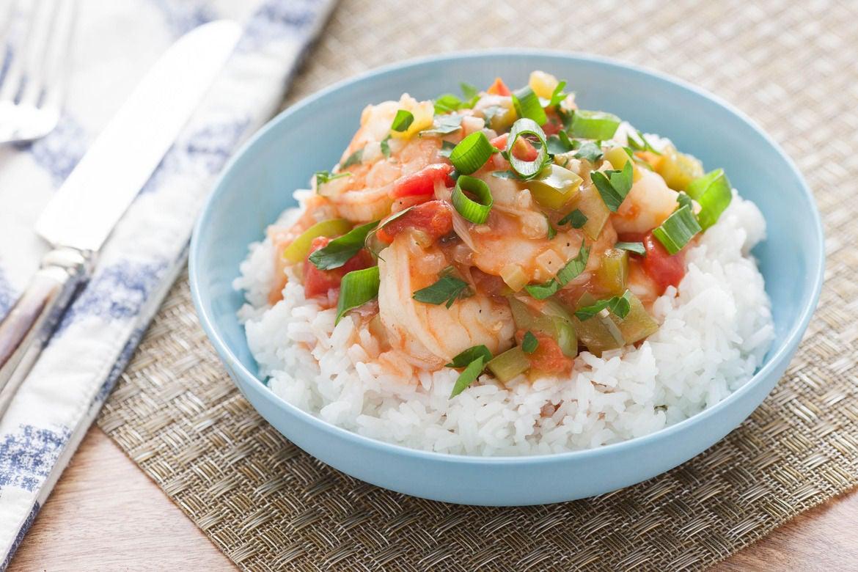 Recipe: New Orleans-Style Shrimp Etoufee with Jasmine Rice - Blue ...