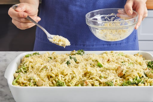 Assemble, bake, & serve your dish:
