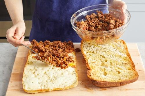 Assemble the sandwiches: