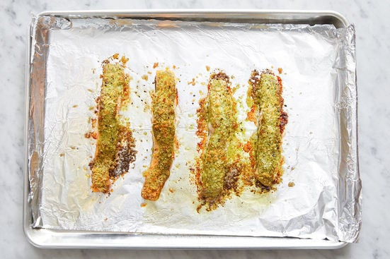 Bake the fish: