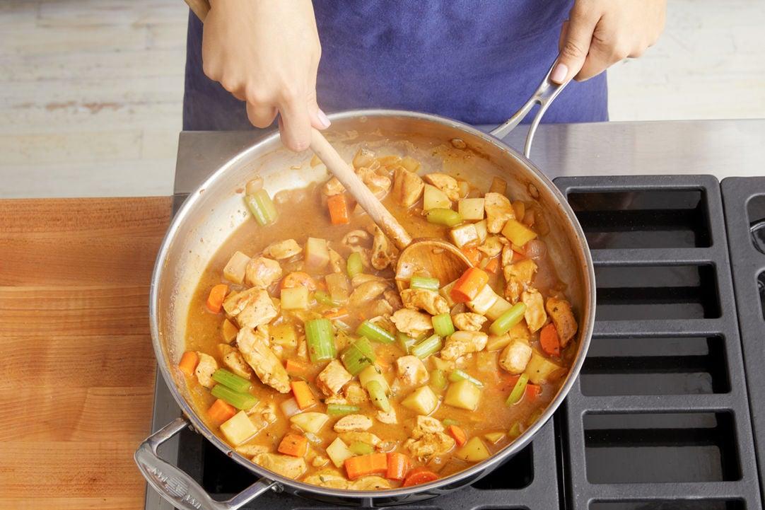 Make the gravy:
