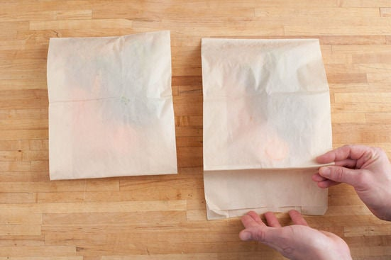Fill & seal the packets: