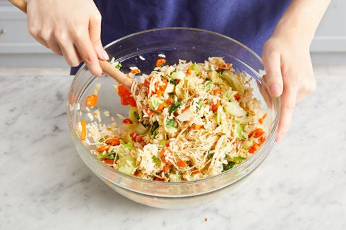 Make the fried rice: