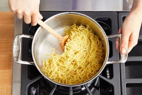 Cook the noodles & serve your dish: