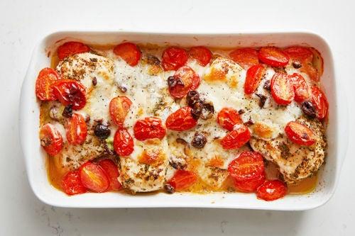 Bake the chicken: