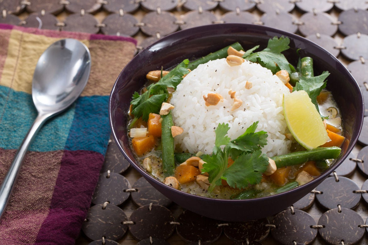 White apron green thumb