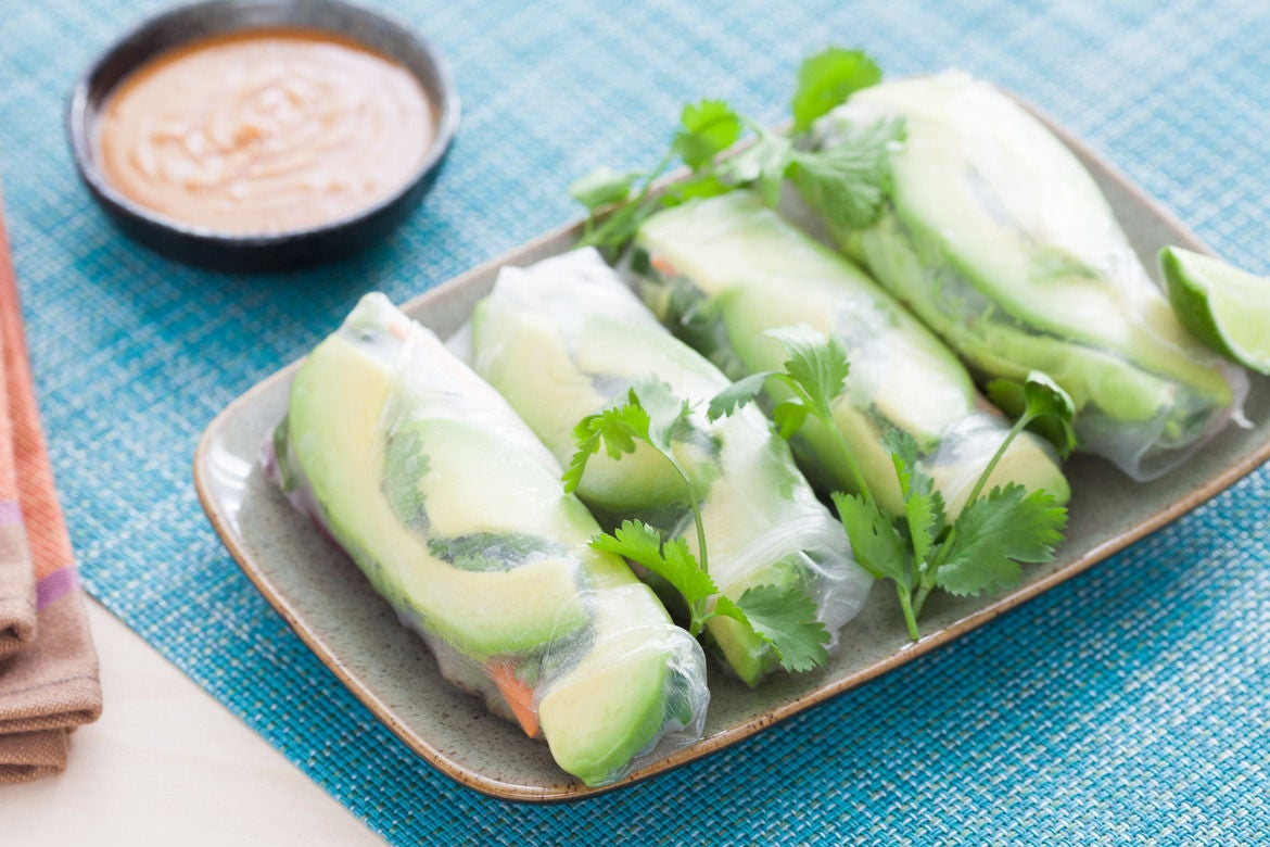 ... Vietnamese Summer Rolls with Spicy Peanut Dipping Sauce - Blue Apron