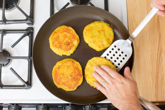Make the rosti:
