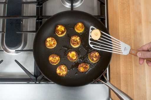 Cook the plantain:
