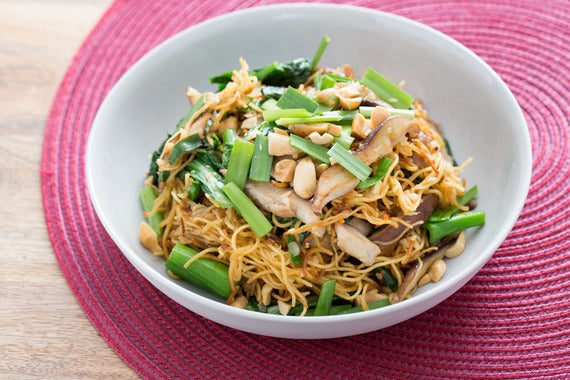 Recipe stir fried chow mein noodles with chinese broccoli chives recipe stir fried chow mein noodles with chinese broccoli chives blue apron forumfinder Image collections