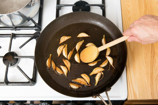 Cook the turnips: