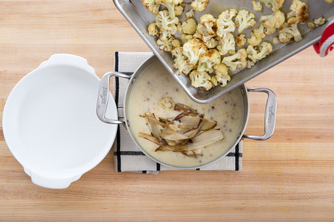 Assemble & bake the gratin: