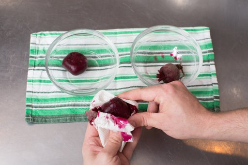 Cook the beets: