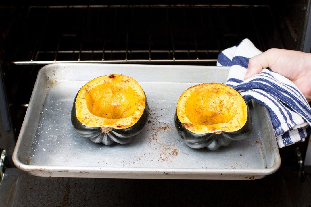 Roast the squash: