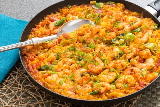 Paella-Style Rice with Shrimp