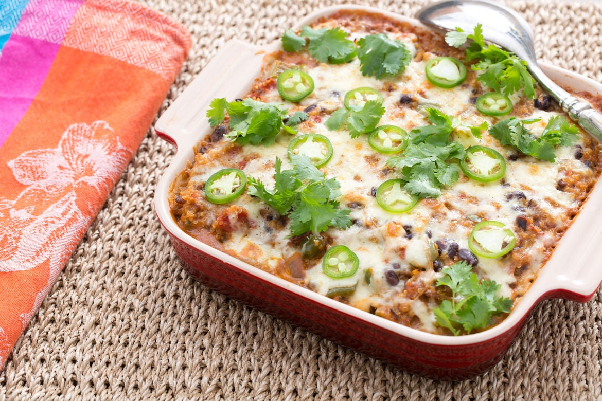 Blue apron quinoa casserole