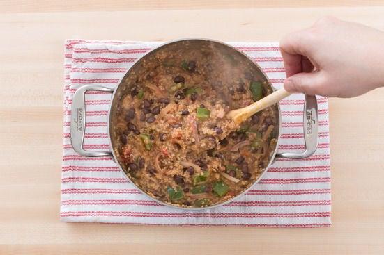 Assemble the casserole: