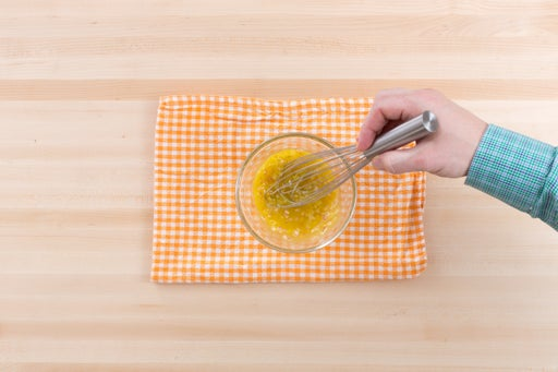 Make the dressing: