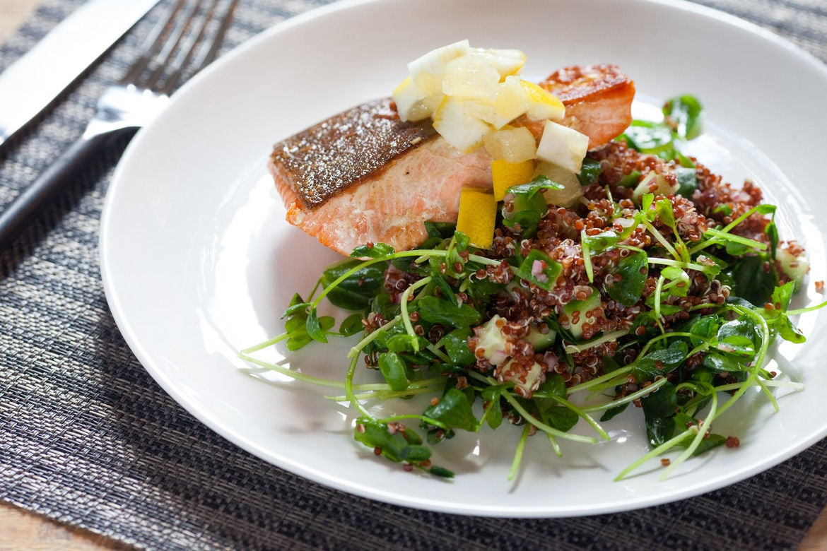 Blue apron quinoa salad