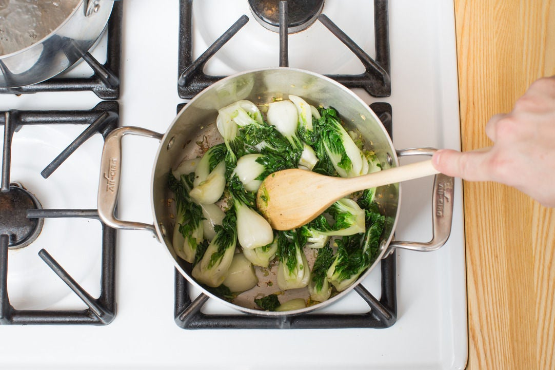 Start the broth: