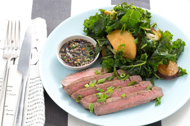 Blue apron yuzu kosho - Steak Miso Roasted Vegetable Salad With Ponzu Dipping Sauce