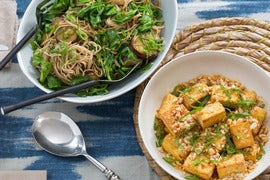 Seared Tofu & Soba Noodles