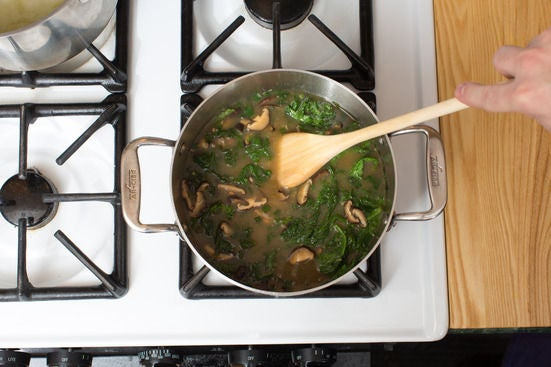 Make the broth: